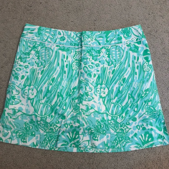 Lilly Pulitzer Dresses & Skirts - NWT Cleona Skort in Bungle in the Jungle Size 4